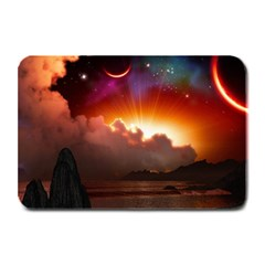 Red Fantasy Plate Mats