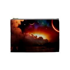 Red Fantasy Cosmetic Bag (medium)