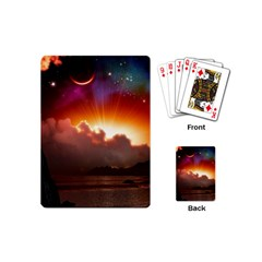 Red Fantasy Playing Cards (mini)