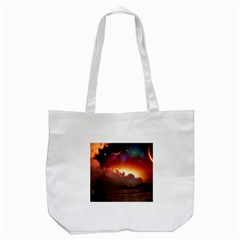 Red Fantasy Tote Bag (white)