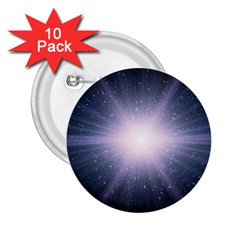 Real Photographs In Saturns Rings 2 25  Buttons (10 Pack)