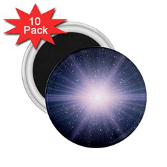 Real Photographs In Saturns Rings 2 25  Magnets (10 Pack)