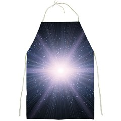 Real Photographs In Saturns Rings Full Print Aprons