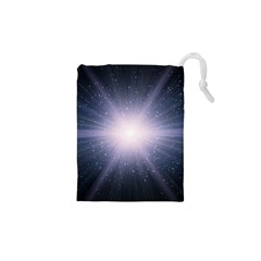 Real Photographs In Saturns Rings Drawstring Pouches (xs)