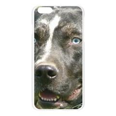 Blue Merle Catahoula Apple Seamless iPhone 6 Plus/6S Plus Case (Transparent)