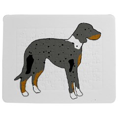 Catahoula Leopard Dog Silo Color Jigsaw Puzzle Photo Stand (Rectangular)