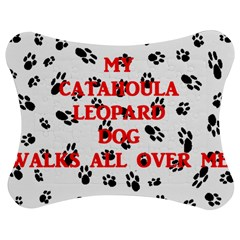 My Catahoula Walks On Me Jigsaw Puzzle Photo Stand (Bow)