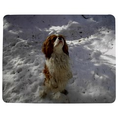Cav In Snow Jigsaw Puzzle Photo Stand (Rectangular)