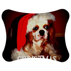 Merry Christmas Santa Cav Jigsaw Puzzle Photo Stand (Bow)