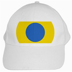 Ukrainian Air Force Roundel White Cap