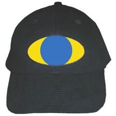 Ukrainian Air Force Roundel Black Cap