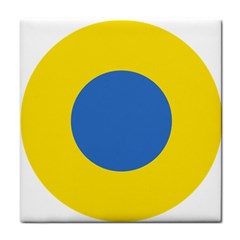 Ukrainian Air Force Roundel Tile Coasters