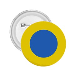 Ukrainian Air Force Roundel 2.25  Buttons