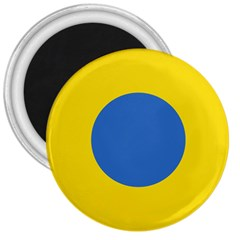 Ukrainian Air Force Roundel 3  Magnets