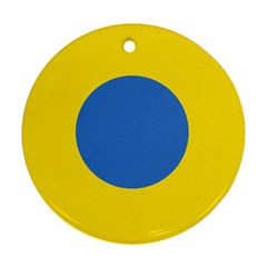 Ukrainian Air Force Roundel Ornament (Round)