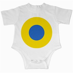 Ukrainian Air Force Roundel Infant Creepers