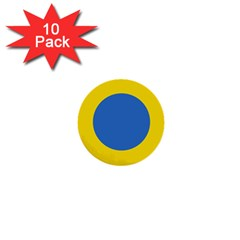 Ukrainian Air Force Roundel 1  Mini Buttons (10 pack)