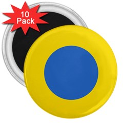 Ukrainian Air Force Roundel 3  Magnets (10 pack)