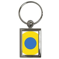 Ukrainian Air Force Roundel Key Chains (Rectangle)