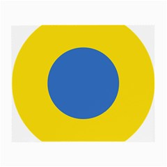 Ukrainian Air Force Roundel Small Glasses Cloth