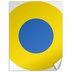 Ukrainian Air Force Roundel Canvas 18  x 24