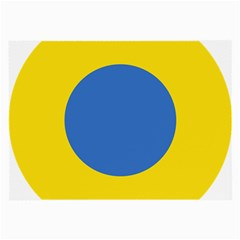 Ukrainian Air Force Roundel Large Glasses Cloth (2-Side)