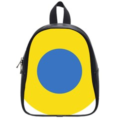 Ukrainian Air Force Roundel School Bags (Small)