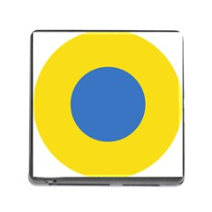 Ukrainian Air Force Roundel Memory Card Reader (Square)