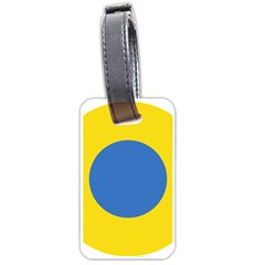 Ukrainian Air Force Roundel Luggage Tags (One Side)