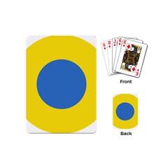 Ukrainian Air Force Roundel Playing Cards (Mini)