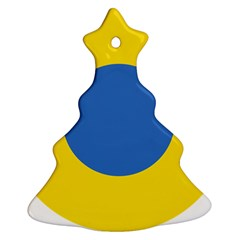 Ukrainian Air Force Roundel Christmas Tree Ornament (Two Sides)