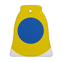 Ukrainian Air Force Roundel Bell Ornament (Two Sides)