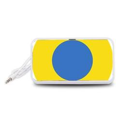 Ukrainian Air Force Roundel Portable Speaker (White)