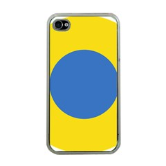 Ukrainian Air Force Roundel Apple iPhone 4 Case (Clear)
