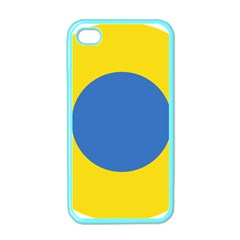 Ukrainian Air Force Roundel Apple iPhone 4 Case (Color)