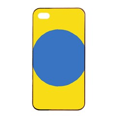 Ukrainian Air Force Roundel Apple iPhone 4/4s Seamless Case (Black)