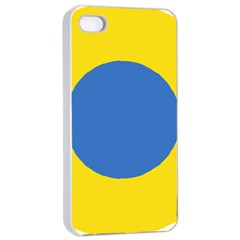 Ukrainian Air Force Roundel Apple iPhone 4/4s Seamless Case (White)
