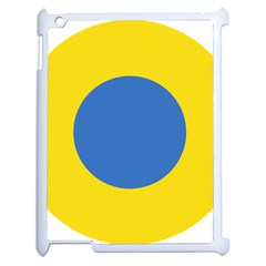 Ukrainian Air Force Roundel Apple iPad 2 Case (White)