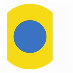 Ukrainian Air Force Roundel Small Garden Flag (Two Sides)