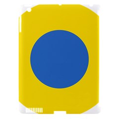 Ukrainian Air Force Roundel Apple iPad 3/4 Hardshell Case (Compatible with Smart Cover)