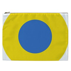 Ukrainian Air Force Roundel Cosmetic Bag (XXL)