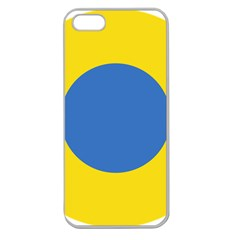 Ukrainian Air Force Roundel Apple Seamless iPhone 5 Case (Clear)