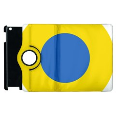 Ukrainian Air Force Roundel Apple iPad 3/4 Flip 360 Case