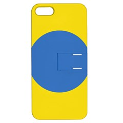 Ukrainian Air Force Roundel Apple iPhone 5 Hardshell Case with Stand