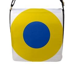 Ukrainian Air Force Roundel Flap Messenger Bag (L)