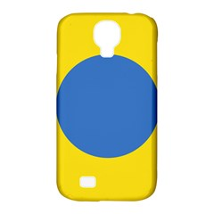 Ukrainian Air Force Roundel Samsung Galaxy S4 Classic Hardshell Case (PC+Silicone)