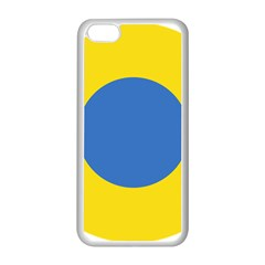 Ukrainian Air Force Roundel Apple iPhone 5C Seamless Case (White)