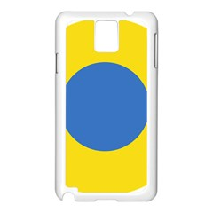 Ukrainian Air Force Roundel Samsung Galaxy Note 3 N9005 Case (White)