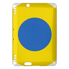 Ukrainian Air Force Roundel Kindle Fire HDX Hardshell Case