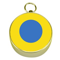 Ukrainian Air Force Roundel Gold Compasses